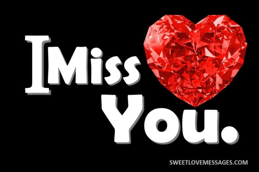 I Miss You Status for Lovers