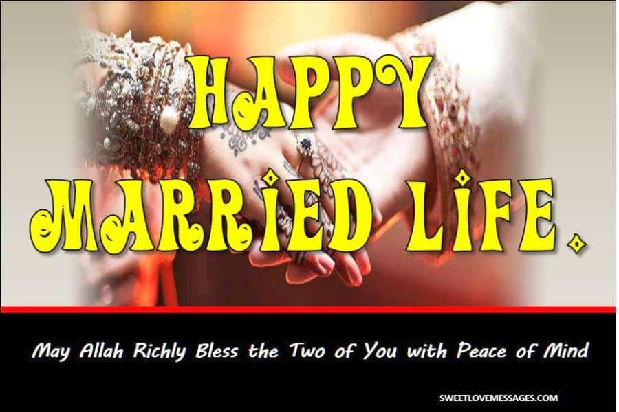 Islamic Wedding Wishes