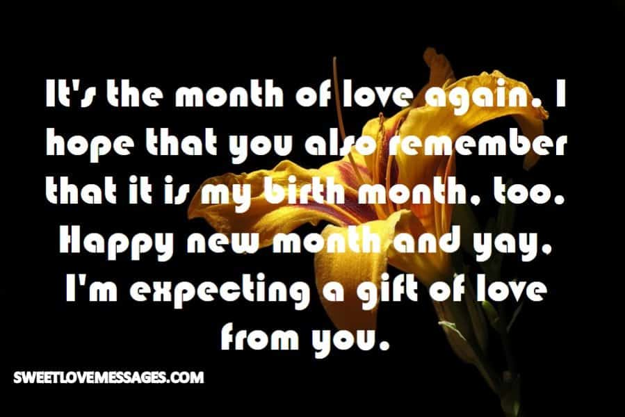 It's the month of love again
