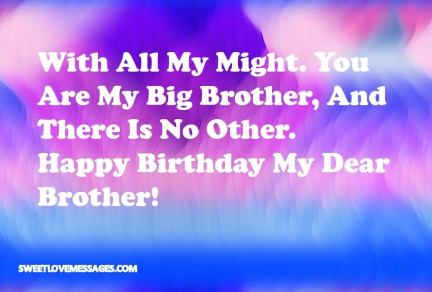 Keep Calm It's My Brother's Birthday