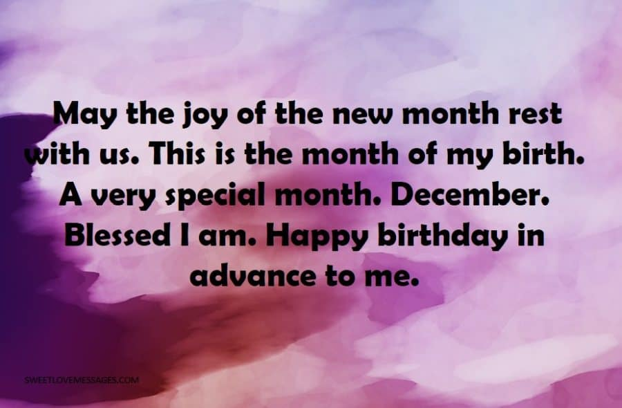 May the joy of the new month rest with us