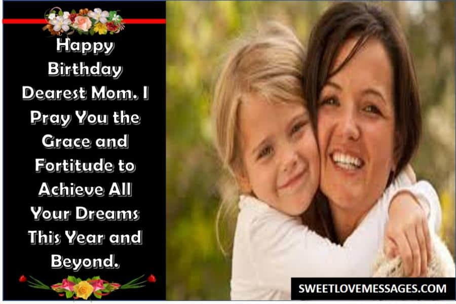 Message for a Mother on Her Birthday