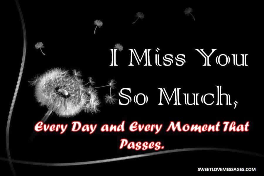 Missing You Badly Quotes