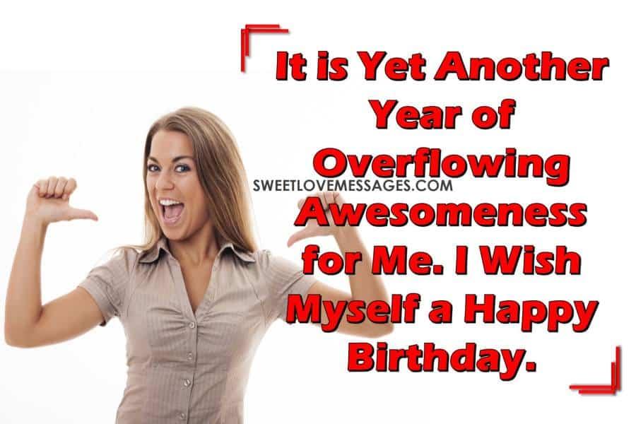Its My Birthday Status