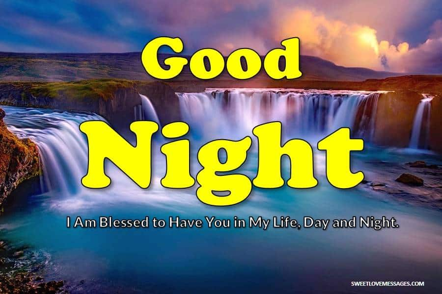 Romantic Good Night SMS for Husband