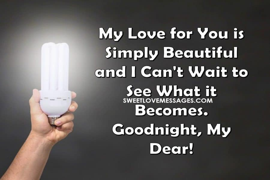 Romantic Goodnight Messages for Boyfriend