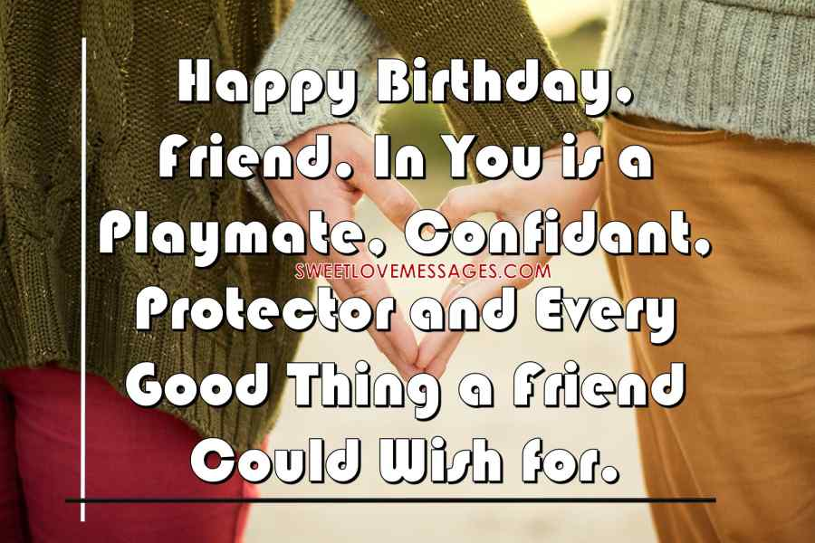 Sweet Birthday Messages for Best Friend