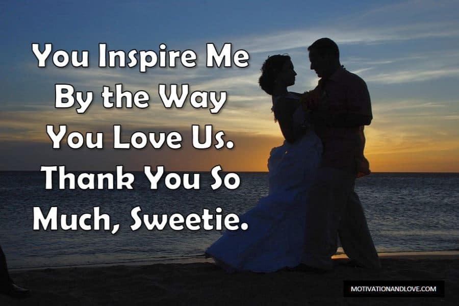 Messages d'amour doux pour ma femme