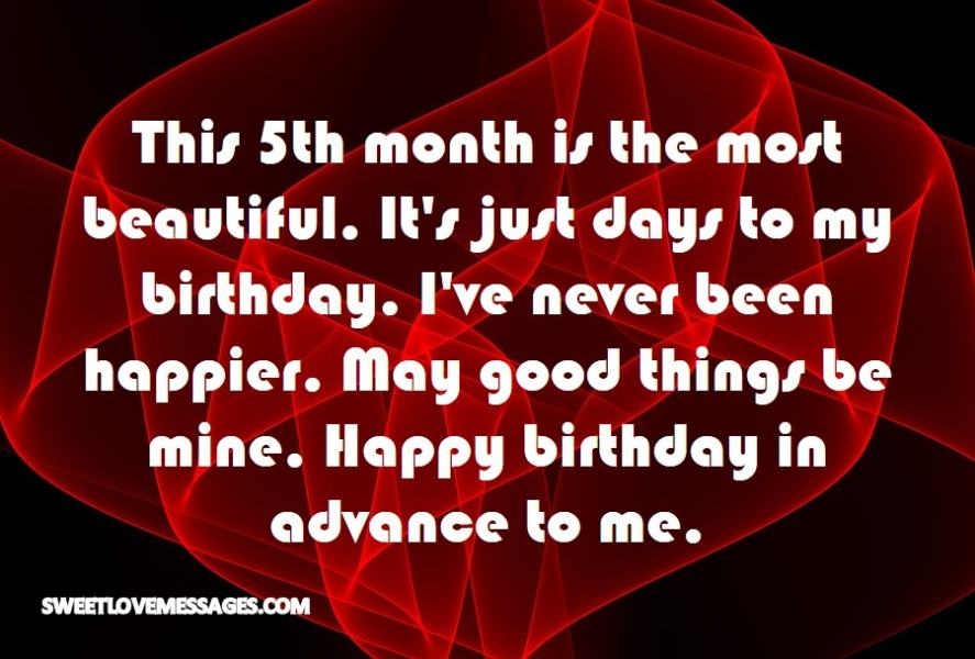 This 5th month is the most beautiful