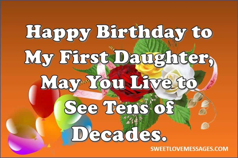 To My Daughter on Her Birthday