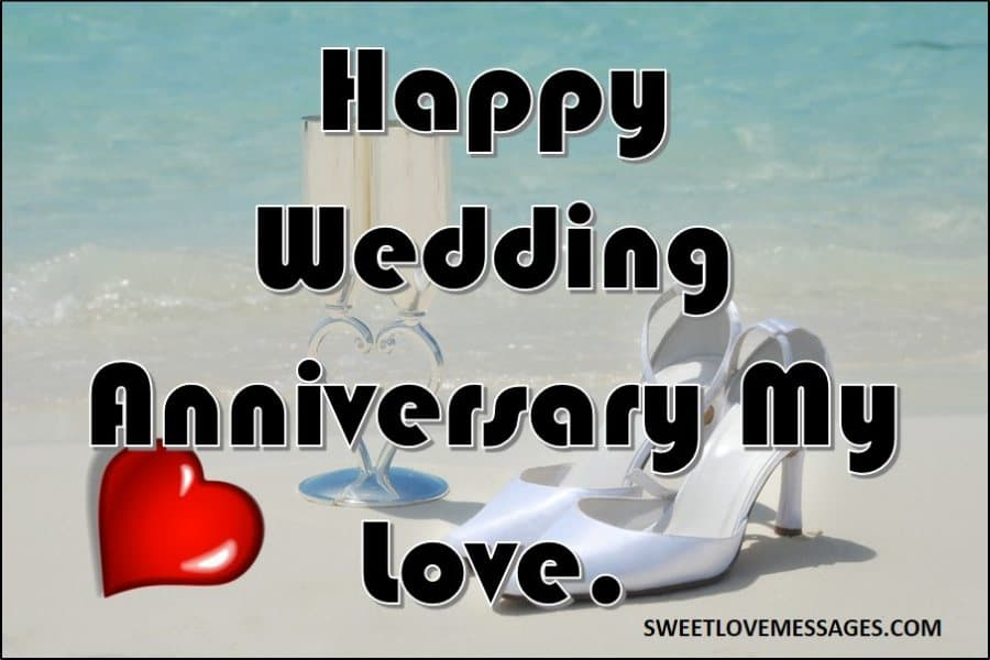 Wedding Anniversary Wishes to Husband from Wife
