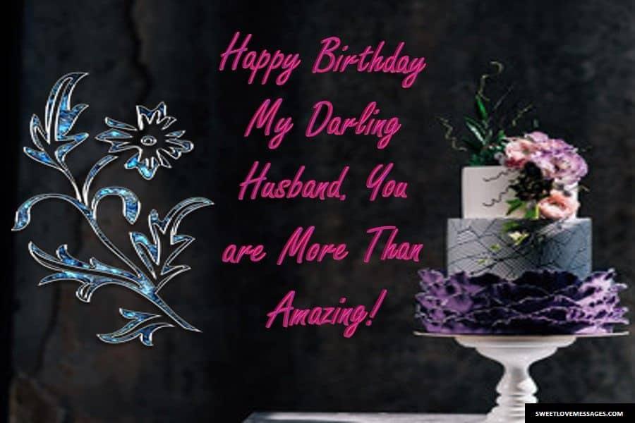 WhatsApp Status for Husband's Birthday