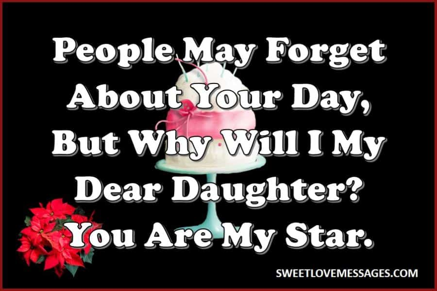 Wishes for Daughter on Her Birthday