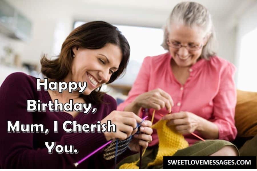 Wishes for Mom on Her Birthday