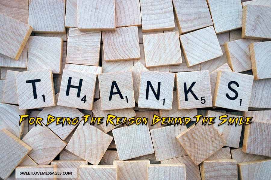 Words to Say Thank You and Appreciation
