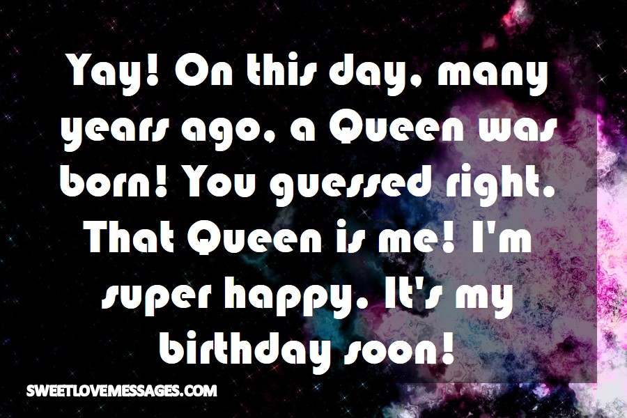 Yay! On this day