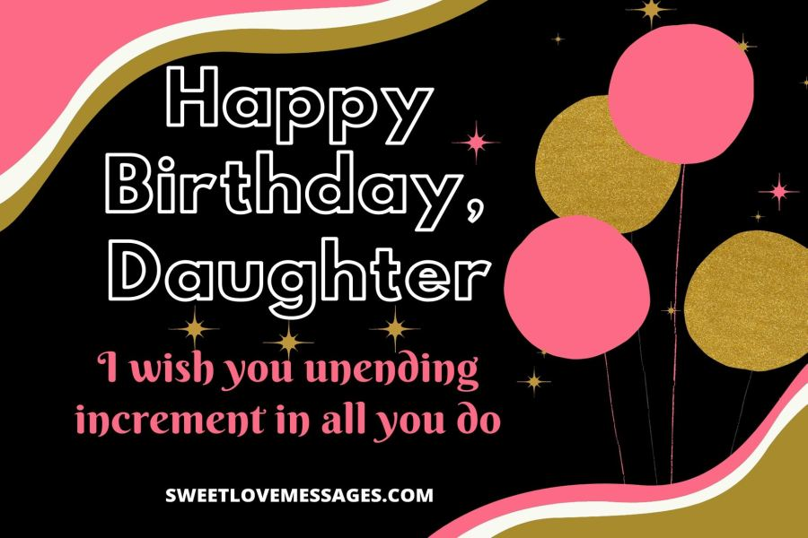 Birthday Wishes for Friend's Daughter