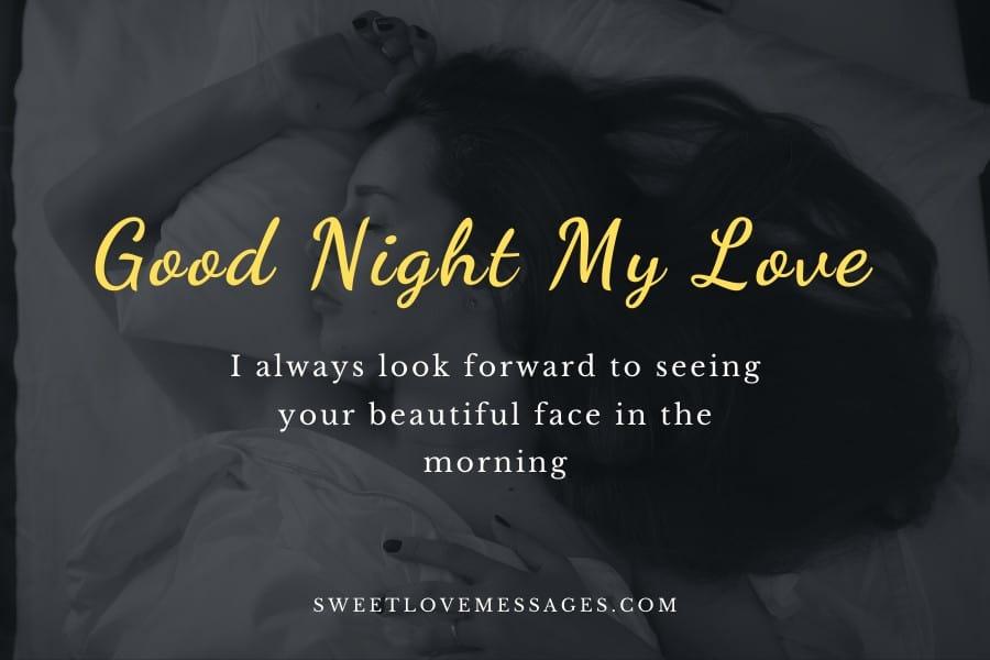 Good Night Message to My Girlfriend