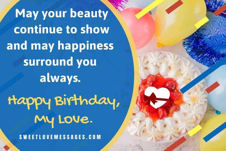 Happy Birthday Love Notes
