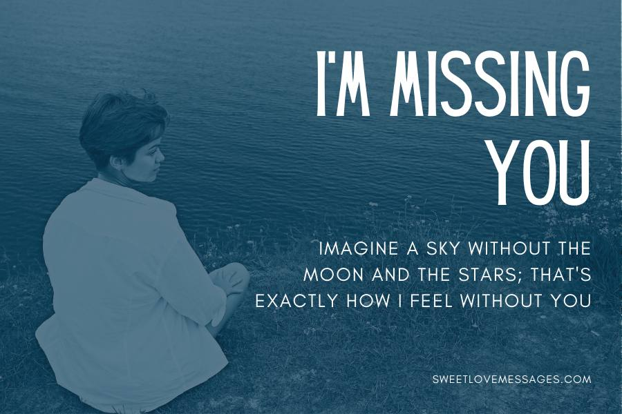 Missing You Messages for Him