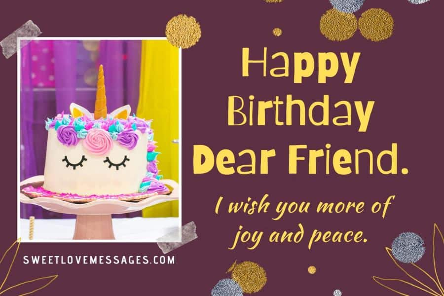 Funny Long Birthday Messages for Best Friend