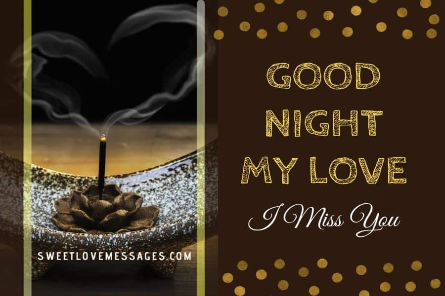 Good Night Messages for Husband Far Away