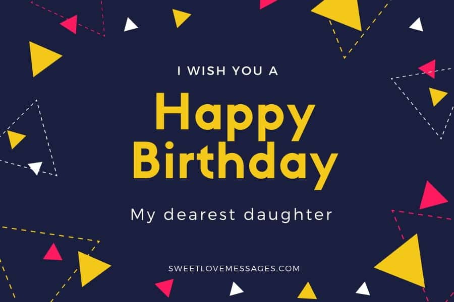 Happy Birthday to Someone Like a Daughter