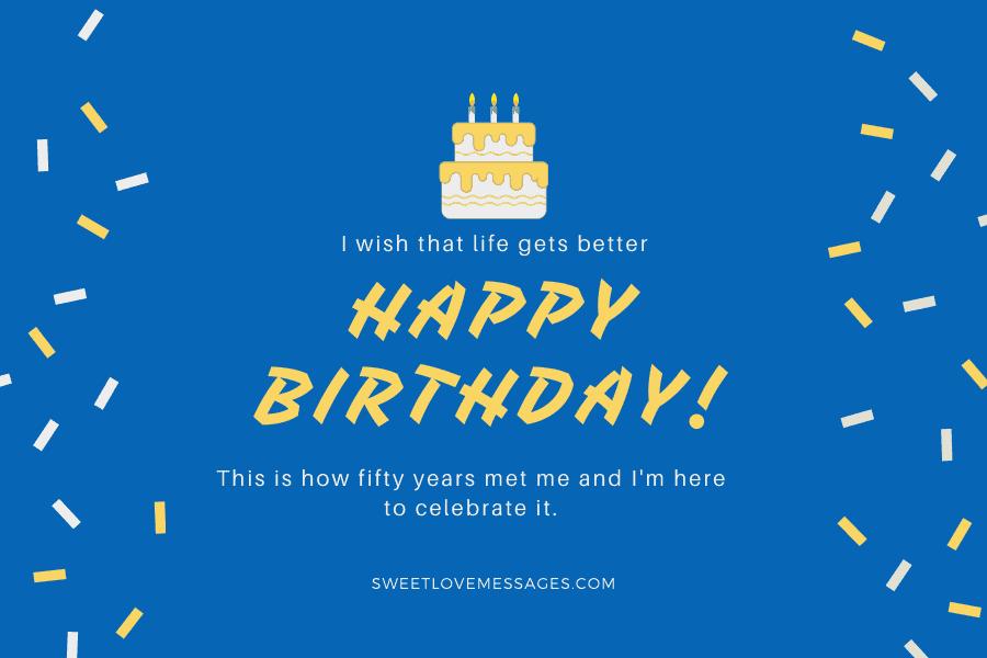 Happy 50th Birthday to Myself 4