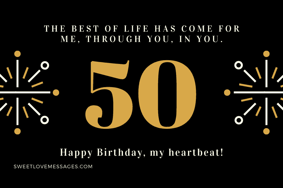 Happy 50th Birthday wishes for Wife 4