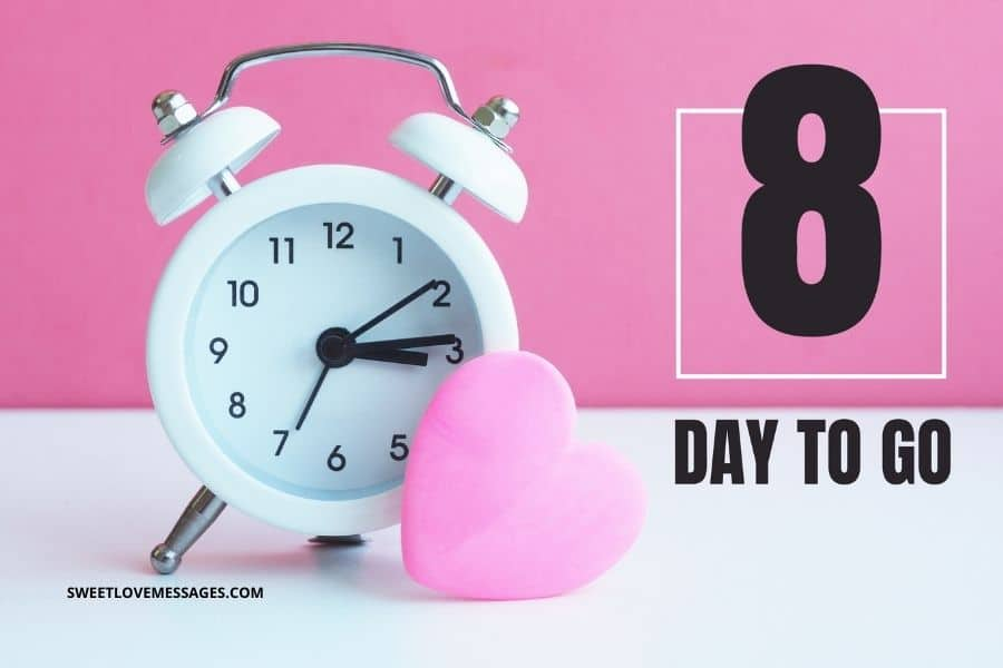 8 Days Left for My Birthday Quotes