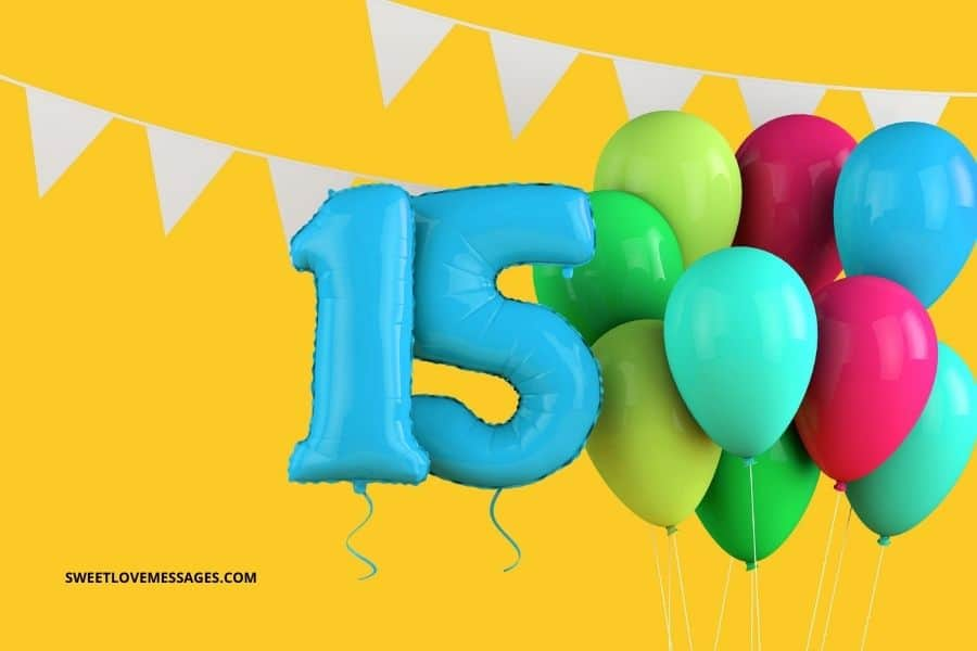 Happy 15th Birthday Wishes, Messages and Quotes to My Niece
