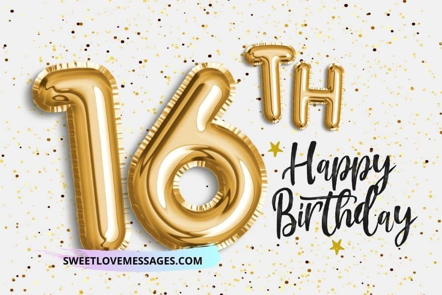 Happy 16th Birthday Wishes, Messages and Quotes to My Niece