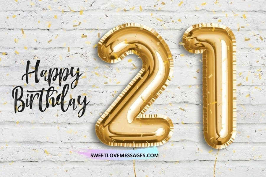 Countdown to 21st Birthday Quotes