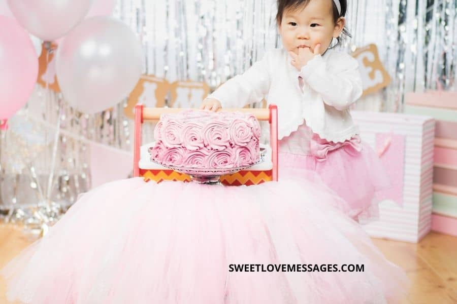 10th Month Birthday Wishes for Baby Girl