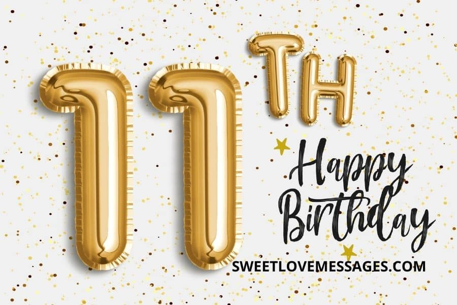 Happy 11th Birthday Wishes, Messages and Quotes to My Niece
