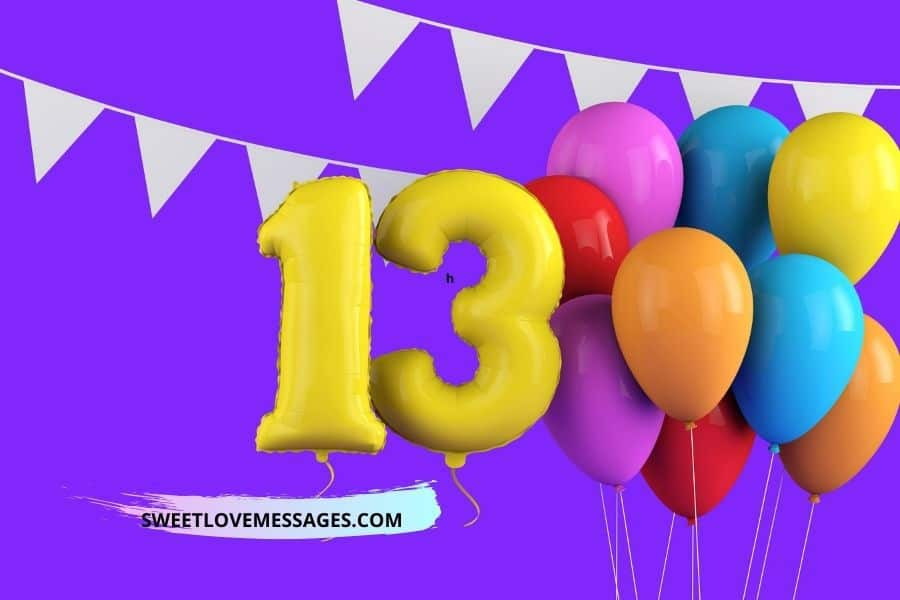 Happy 13th Birthday Wishes, Messages and Quotes to My Niece
