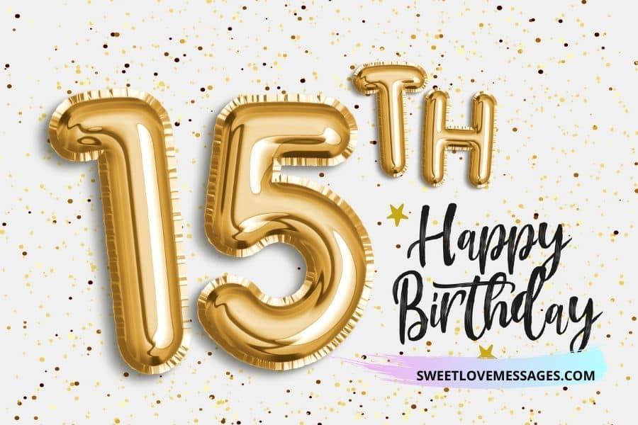 Happy 15th birthday nephew wishes