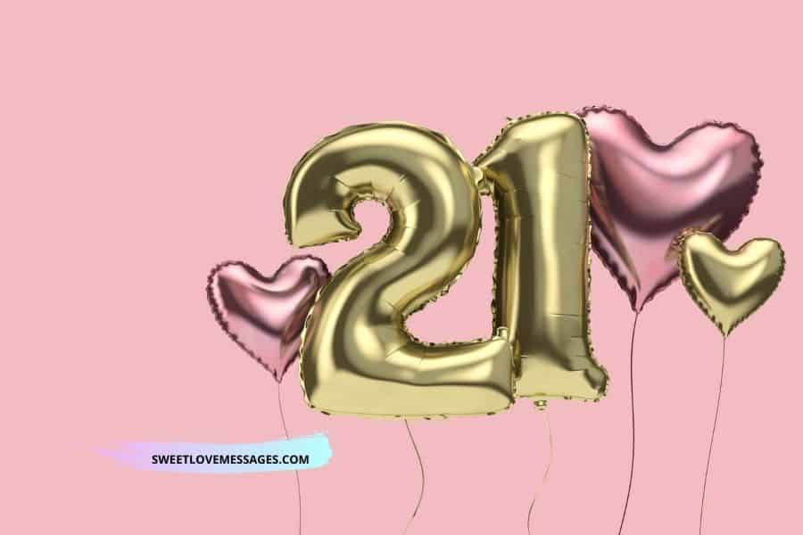 Happy 21st Birthday Wishes, Messages and Quotes to My Niece