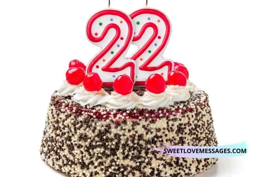 22nd Birthday Wishes for Boyfriend