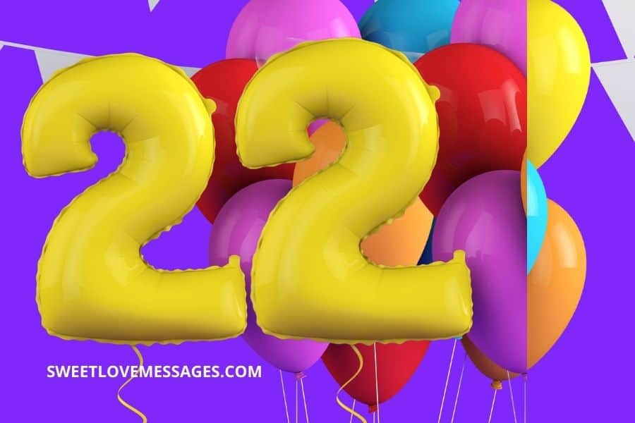 Happy 22nd Birthday Wishes for Girlfriend