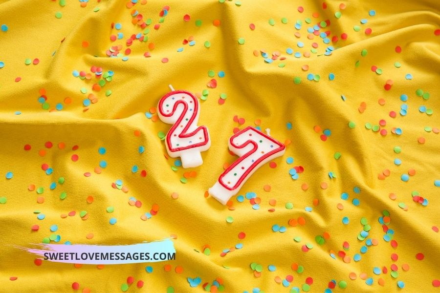 27th Birthday Wishes for Boyfriend