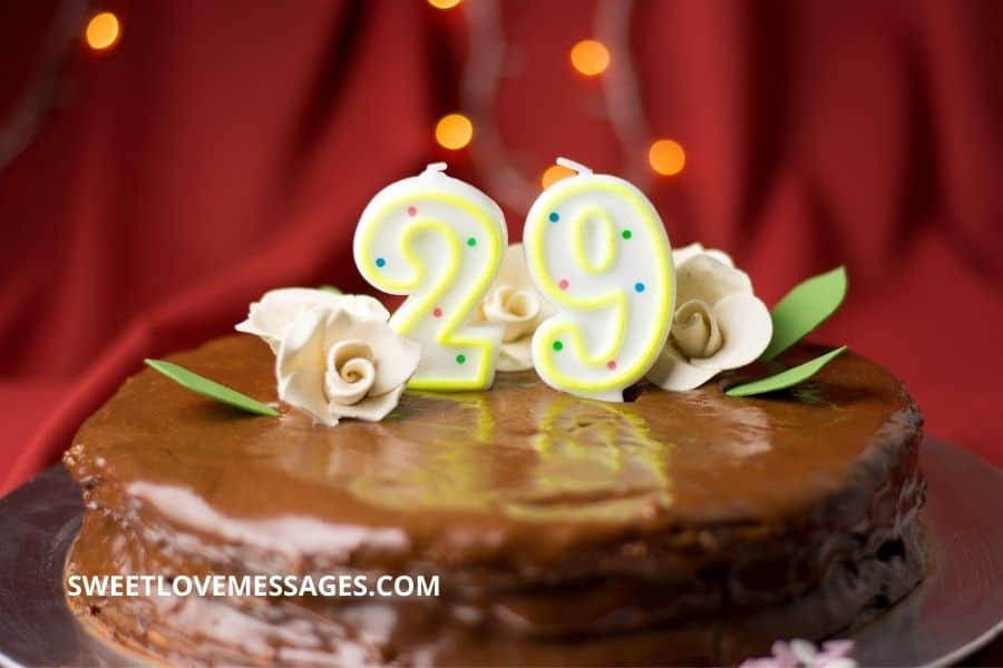 Happy 29th Birthday Wishes for Girlfriend