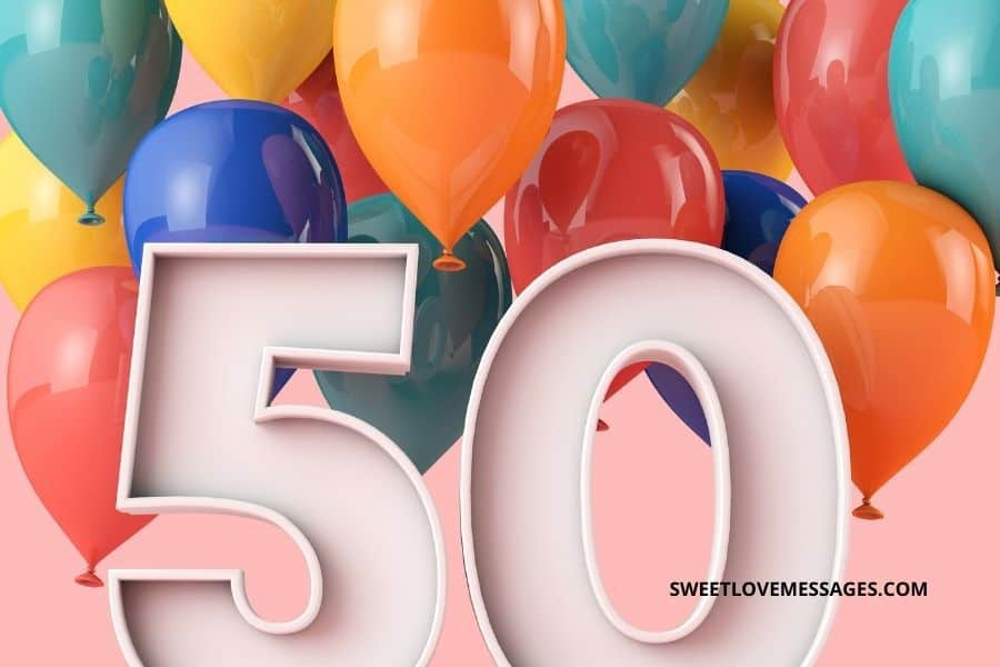 Happy 50th Birthday Wishes, Messages and Quotes to My Niece