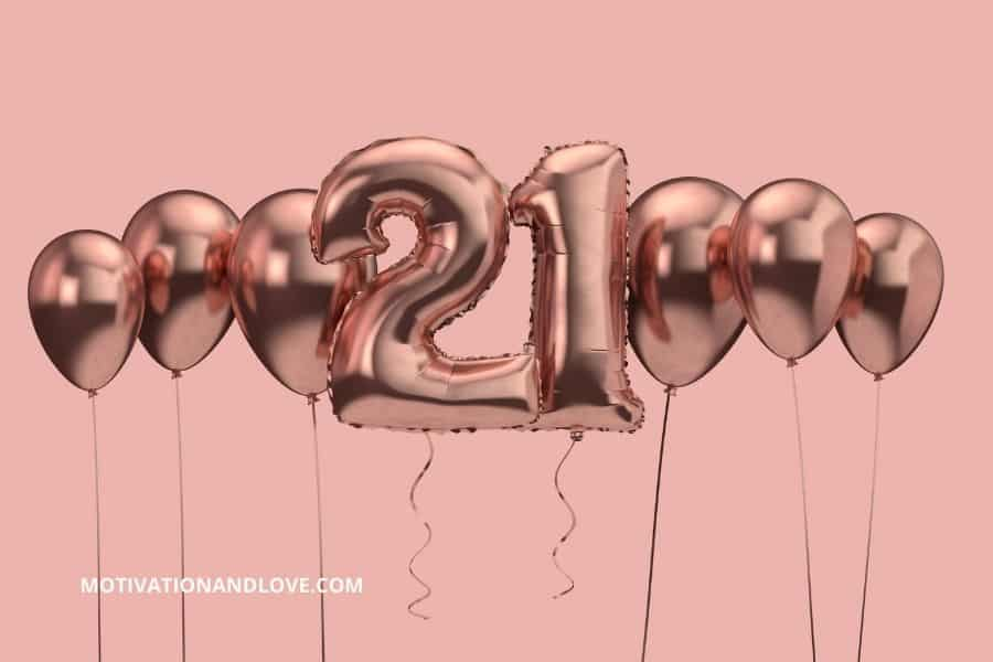 Happy Belated 21st Birthday Wishes