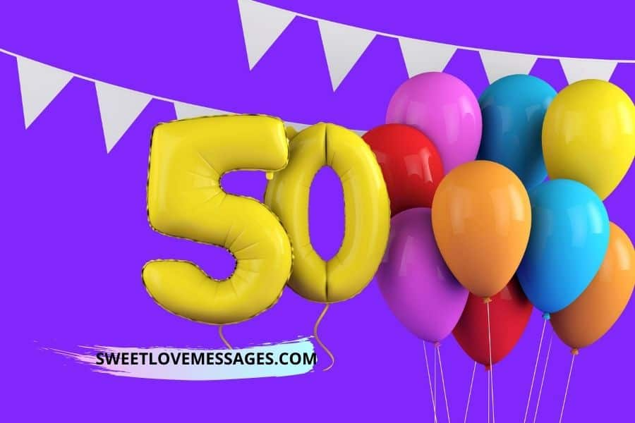 Belated 50th Birthday Wishes