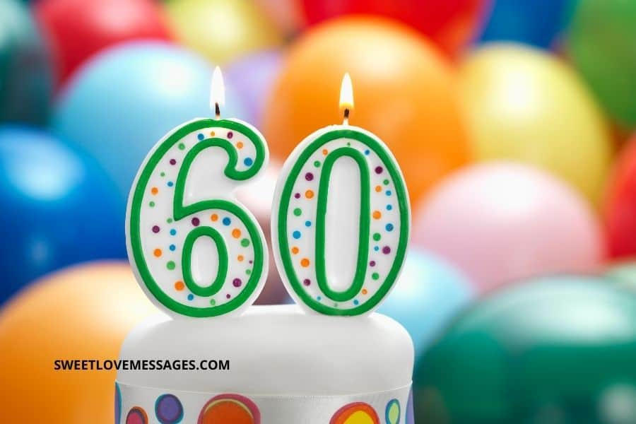 Belated 60th Birthday Wishes