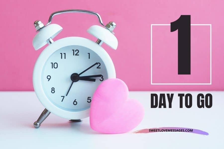 1 Day to Go Birthday Countdown