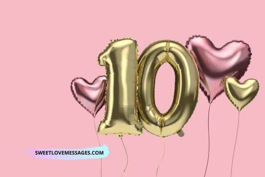 Happy 10th Birthday Wishes to My Niece