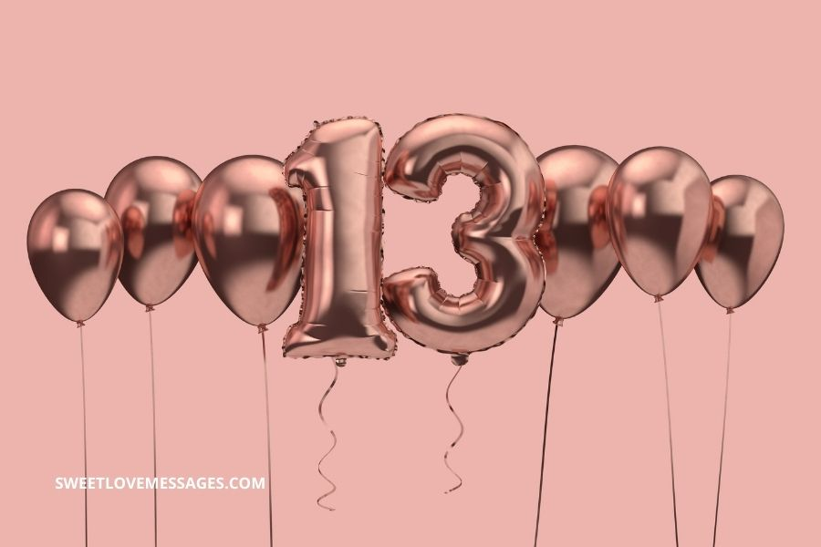 Happy 13th birthday to me