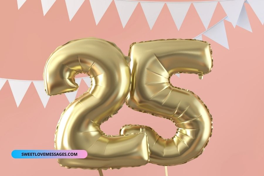 25th birthday wishes for wife